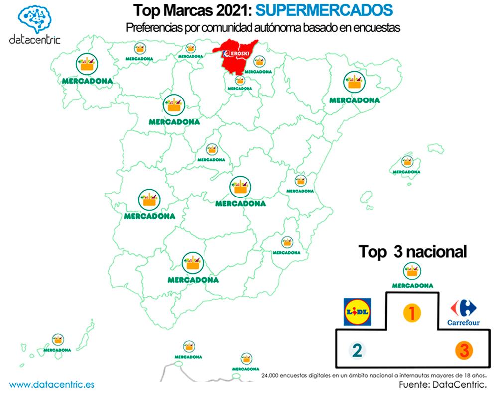 Mapa-top_marcas_SUPERMERCADOS_Espana