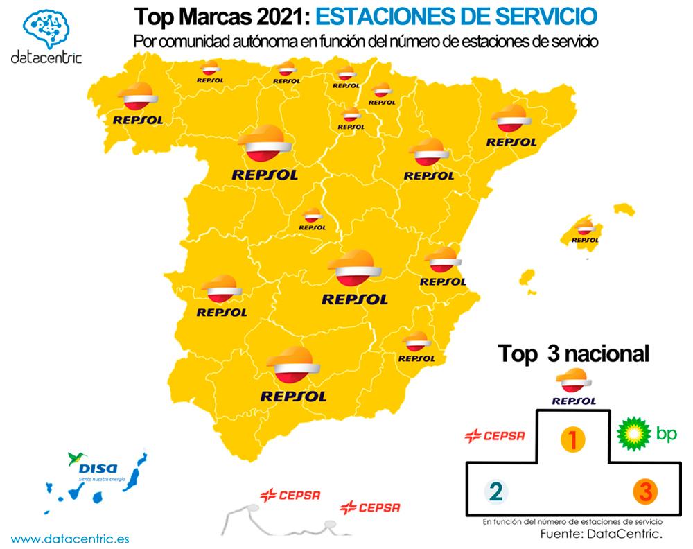 Mapa-top_marcas_GASOLINERAS_Espana