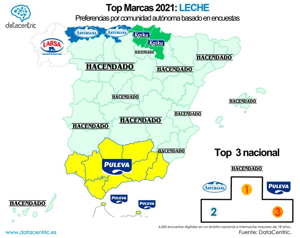 Mapa-top_marcas_LECHE_Espana